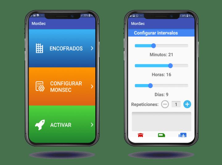 Aplicación Monsec para móviles
